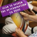 Plan to deepen the Determination of the CGXVIII
